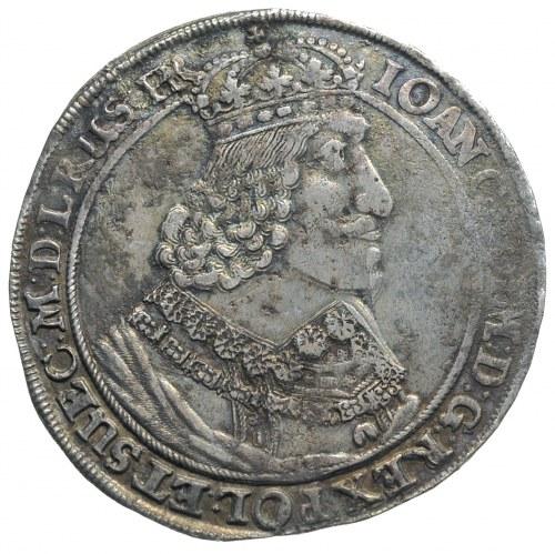 talar 1649, Gdańsk, odmiana z dużą głową króla, srebro ...