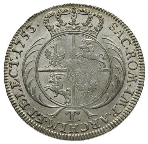 tymf 1753, Lipsk, Merseb. 1776, ładny egzemplarz