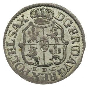 1/24 talara 1763, Lipsk, Merseb. 1770, ładny egzemplarz...