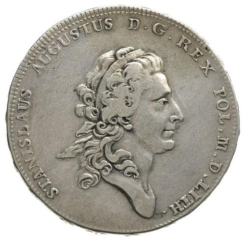 talar 1775, Warszawa, odmiana z napisem LITH, srebro 27...