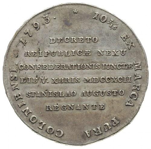 talar historyczny zwany Targowickim, 1793, Grodno?, War...
