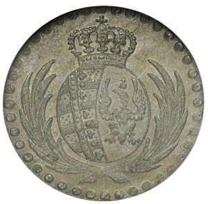 10 groszy 1813, Warszawa, Plage 103, moneta w pudełku G...