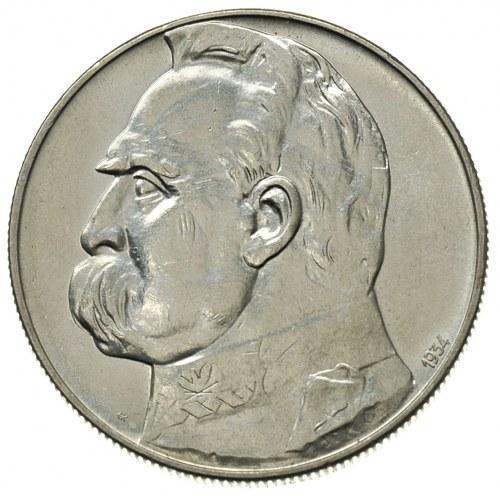 10 złotych 1934, Warszawa, Józef Piłsudski - Orzeł Strz...