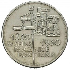 5 złotych 1930, Warszawa. \Sztandar, Parchimowicz 115.b