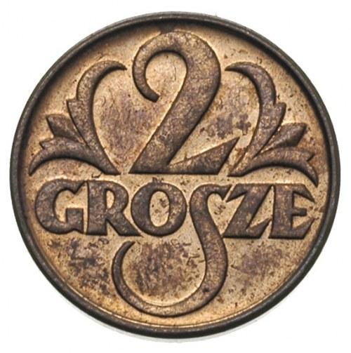 2 grosze 1933, Warszawa, Parchimowicz 102.h, piękne