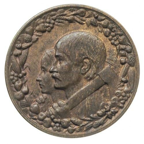 10 złotych 1925, Warszawa, Dwie głowy, brąz 3.42 g, Par...
