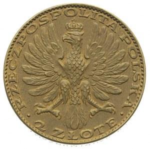 2 złote 1928, Matka Boska z Dzieciątkiem, Parchimowicz ...