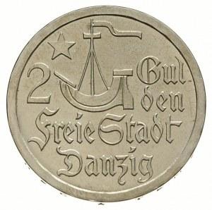 2 guldeny 1923, Utrecht, Koga, Parchimowicz 63.b, monet...