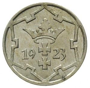 5 fenigów 1923, Berlin, Parchimowicz 55.a, wyśmienity e...