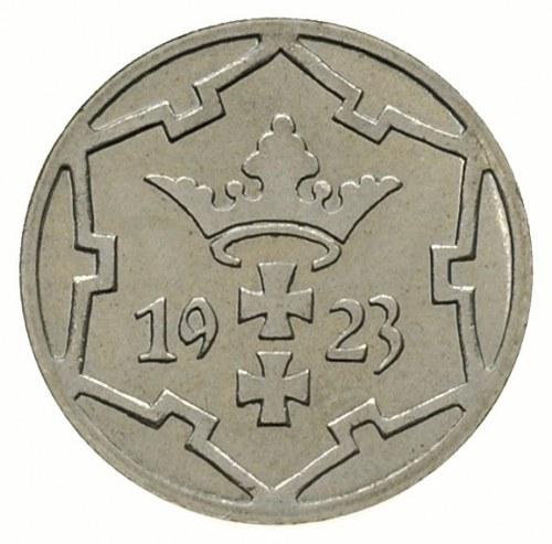 5 fenigów 1923, Berlin, Parchimowicz 55.c, moneta wybit...