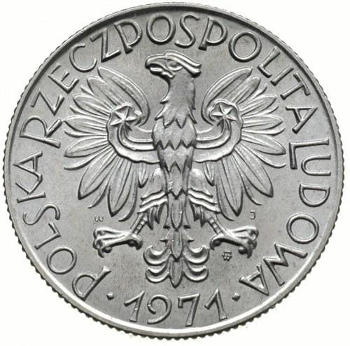 5 złotych 1971, Warszawa, Parchimowicz 220.d, ładnie za...