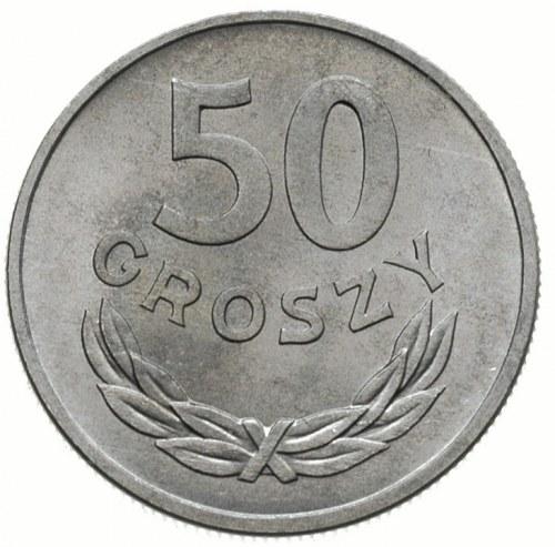 50 groszy 1957,Warszawa, Parchimowicz 210.a, piękne