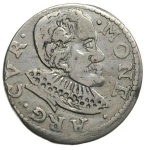 Fryderyk Kettler 1587-1642, trojak 1598, Mitawa, Iger K...