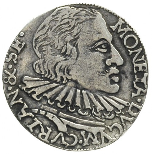 Wilhelm Kettler 1596-1626, trojak 1599, Mitawa, Iger Ku...
