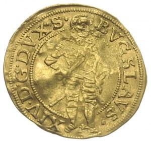 Bogusław XIV 1620-1637, dukat dez daty,Szczecin, Aw: Po...