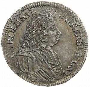 2/3 talara (gulden) 1690, Szczecin, Ahlström 114.b, Dav...