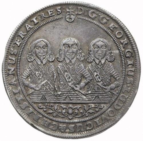 1/4 talara 1653, Brzeg, FuS 1726, pięknie zachowany egz...