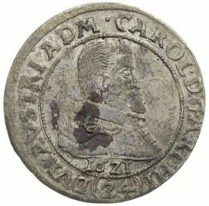 Karol Austriacki 1608-1624, 24 krajcary 1621, Nysa, FuS...