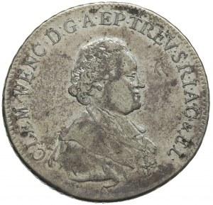 talar 1771, Koblencja, srebro 27.86 g, Aw: Popiersie i ...