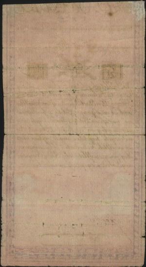 5 złotych 8.06.1794, seria N.F.1, papier ze znakiem fir...