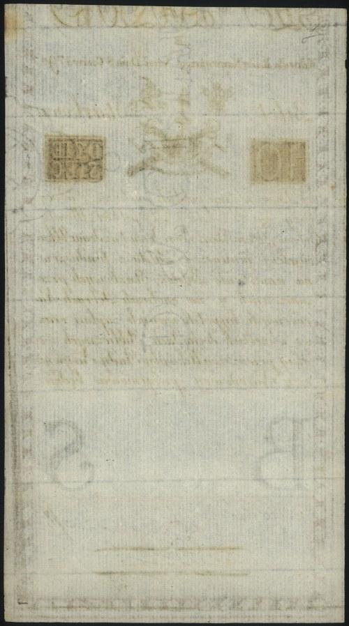 10 złotych 8.06.1794, seria B, widoczny znak wodny, Mił...
