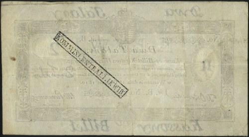 2 talary 1.12.1810, podpis komisarza: T. Ostrowski, na ...