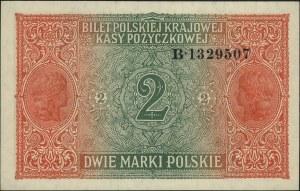2 marki polskie 9.12.1916, \Generał, seria B