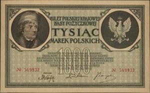 1.000 marek polskich 17.05.1919, bez oznaczenia serii, ...