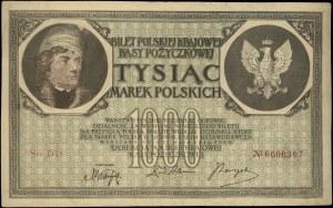 1.000 marek polskich 17.05.1919, seria DD, numeracja 7-...