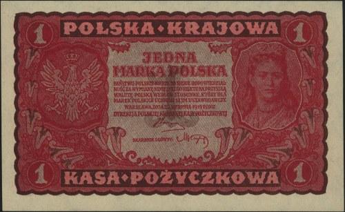 1 marka polska 23.08.1919, I seria D i I seria AW, Miłc...