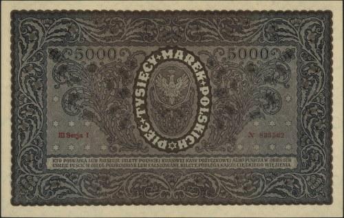 5.000 marek polskich 7.02.1920, III seria I, Miłczak 31...