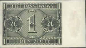 1 złoty 1.10.1938, seria IL, Miłczak 78b, Lucow 719 (R3...