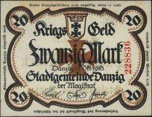 20 marek 12.10.1918, UNGÜLTIG, Podczaski WD-100.C.2.h, ...