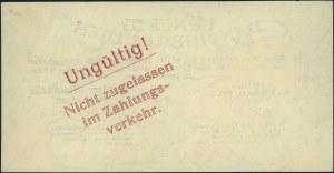 50 guldenów 1.11.1923, Miłczak G40, Ros. 831, na odwroc...