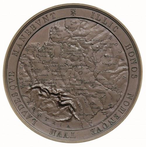 Dudley Stuart -medal autorstwa A.Bovy'ego, wybity stara...