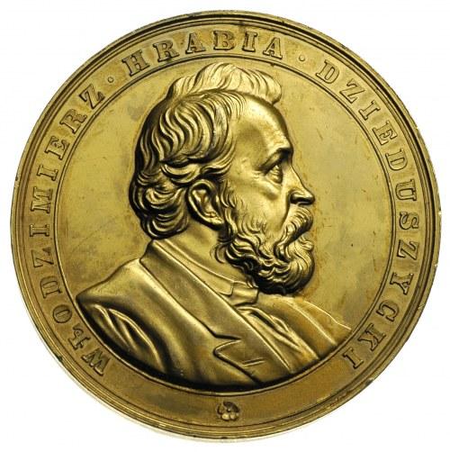Włodzimierz hrabia Dzieduszycki -medal autorstwa C.Radn...