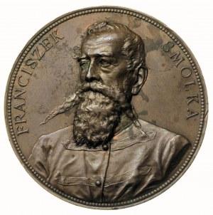 Franciszek Smolka -medal autorstwa A. Scharfa wybity w ...