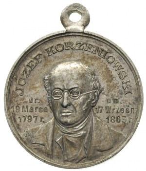 Józef Korzeniowski, -medal z uszkiem sygnowany JM, 1897...