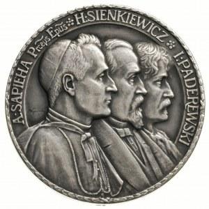 Polonia Devastata -medal autorstwa J. Wysockiego 1915 r...