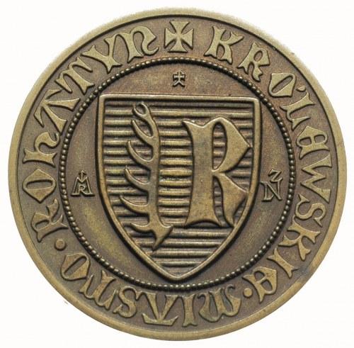 Rohatyń -medal autorstwa J. Laszczki na 500-lecie założ...