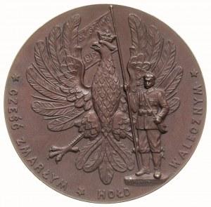 Ogłoszenie Niepodległości Polski -medal sygnowany B. Po...