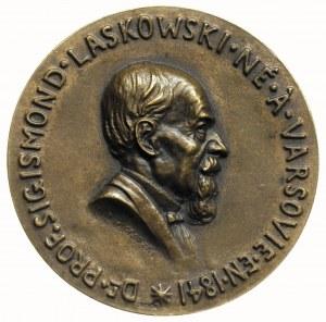 medal sygnowany K.ŻMIGRODZKI BRONZE poświęcony profesor...