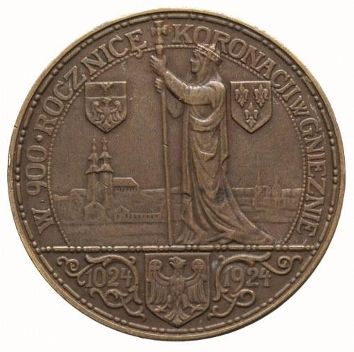 medal na 900 RocznicęKoronacji Bolesława Chrobrego aut...