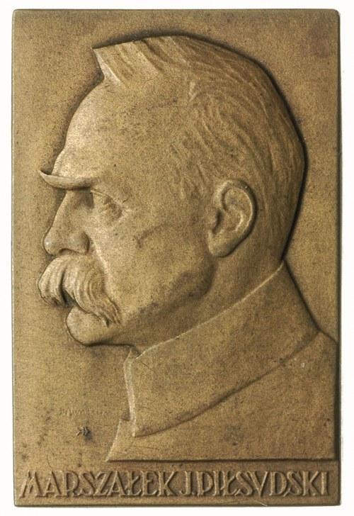 Marszałek Józef Piłsudski i Stefan Żeromski -plakiety M...