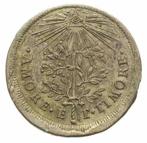 żeton 1690, wybity z okazji koronacji Józefa I Habsburg...