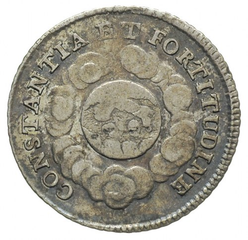 żeton 1723, wybity z okazji koronacji Karola VI Habsbur...