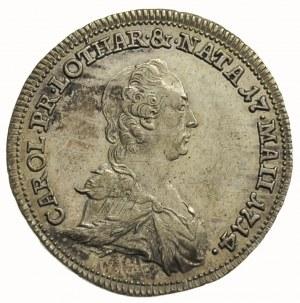 żeton 1773, wybity z okazji śmierci Anny Charlotty Lota...