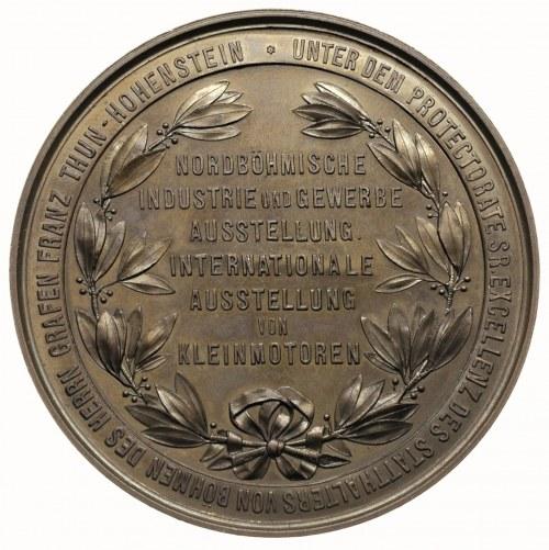 medal sygn LEISEK IN WIEN wybity z okazji wystawy w Tep...