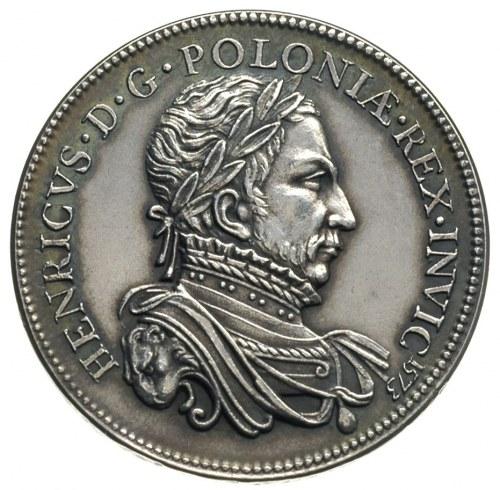 Henryk Walezy, XIX wieczna odbitka medalu koronacyjnego...