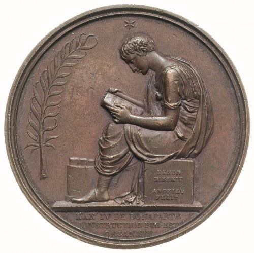 Napoleon Bonaparte Konsul, medal autorstwa Andrieu i Dr...